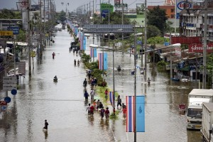Relief Aid for Thailand Flood Victims